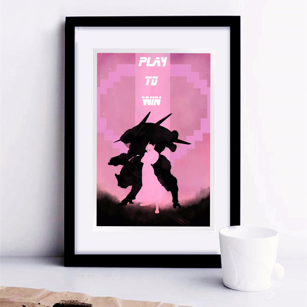 Overwatch Game Artwork Canvas Art Print Painting Poster Wall Pictures For Living Room Home Decorative Decor No Frame