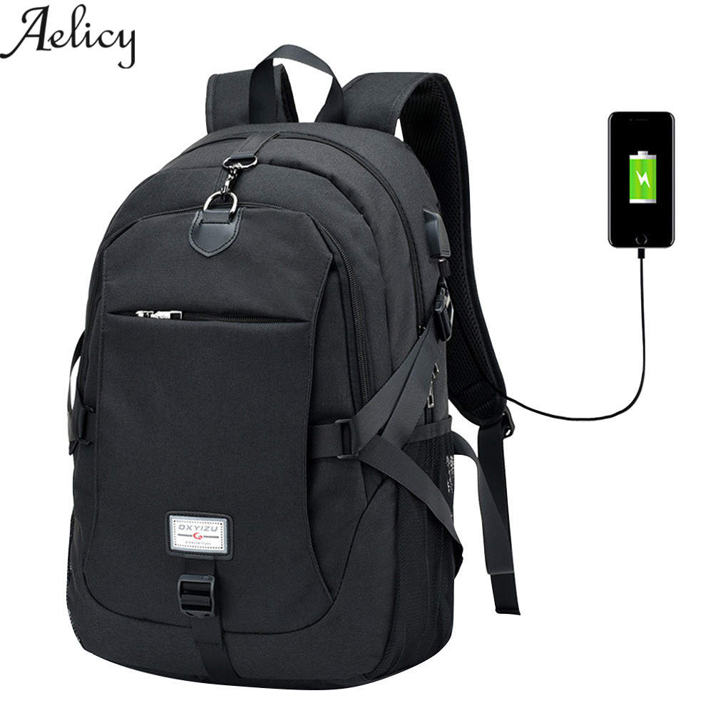 Aelicy luxury multifunction oxford anti theft backpack for men antitheft backpack  male laptop schoolbag for man fd79f284630a6