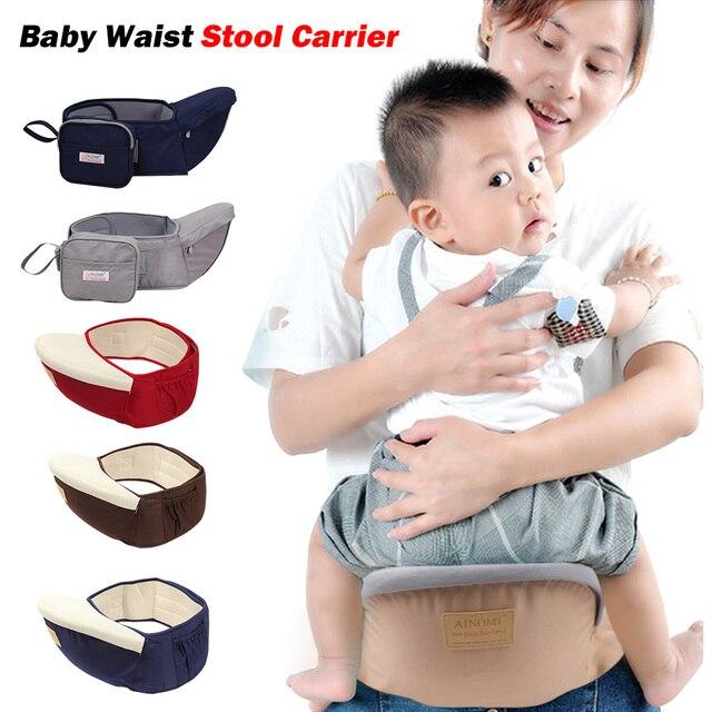 Baby Carrier Waist Stool Walkers Infant Sling Waist Belt Backpack Kids Adjustable Toddler Front Holder Wrap Belt Hip Seat Belt