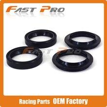 Front Shock Absorber Fork Dust Oil Seal For SUZUKI VL400 GSX600F GSXR600 RF600R SV650 GSXR750 GSX750 VL800 GSX1100 VS1400 VL1500