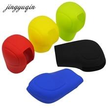 Jingyuqin силиконовый чехол с рычагом переключения передач, рукоятка рычага переключения передач, крышка для универсального украшения, автомобильные аксессуары