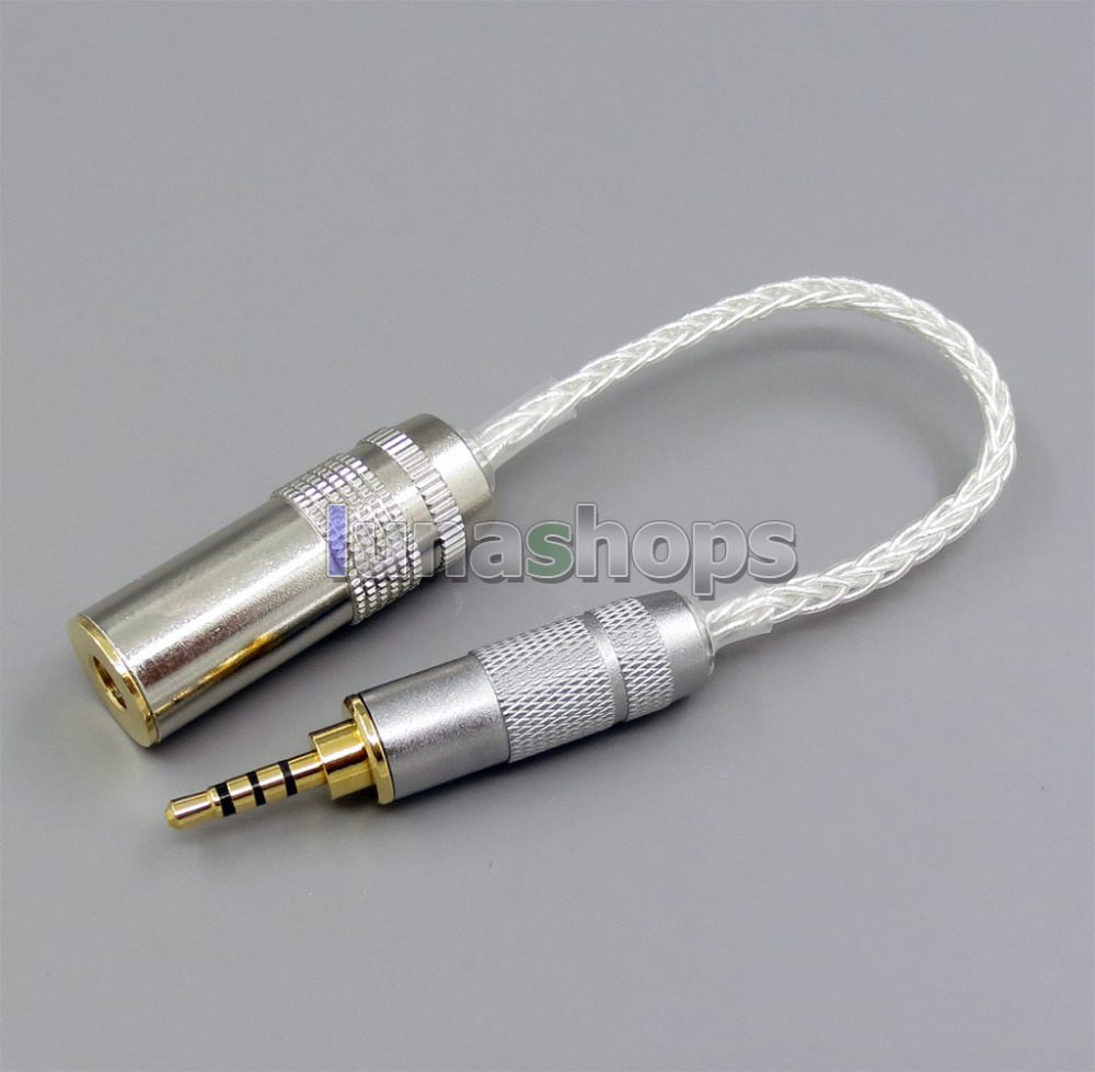Shop For Cheap 4pin Xlr Male To 4.4mm Female Audio Adapter Converter Cable For Sony Pha-2a Ta-zh1es Nw-wm1z Nw-wm1a Earphone Accessories Consumer Electronics