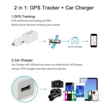 USB Locator Car Charger Tracker LBS GPS 2G GSM GPRS Real-Time Remote Tracking Vehicle Tracking Car Tools New