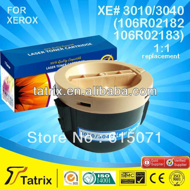 FREE DHL MAIL SHIPPING ,106R02183 Toner for Xerox Phaser 3010 3040 Printer Cartridge. Best 106R02183