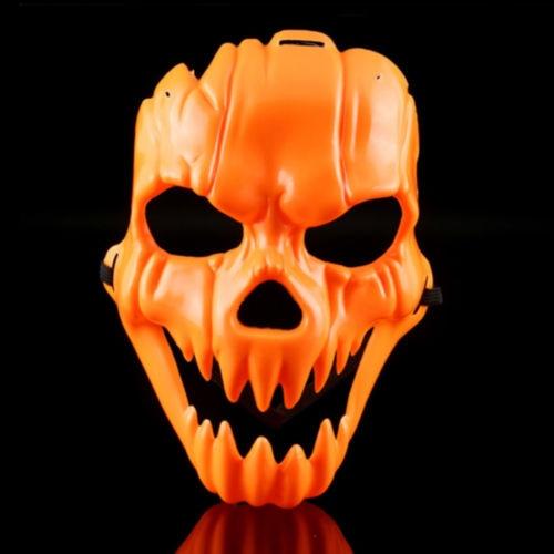 Scary halloween t te de citrouille masque costume party props plastique fantaisie masque partie - Tete de citrouille ...