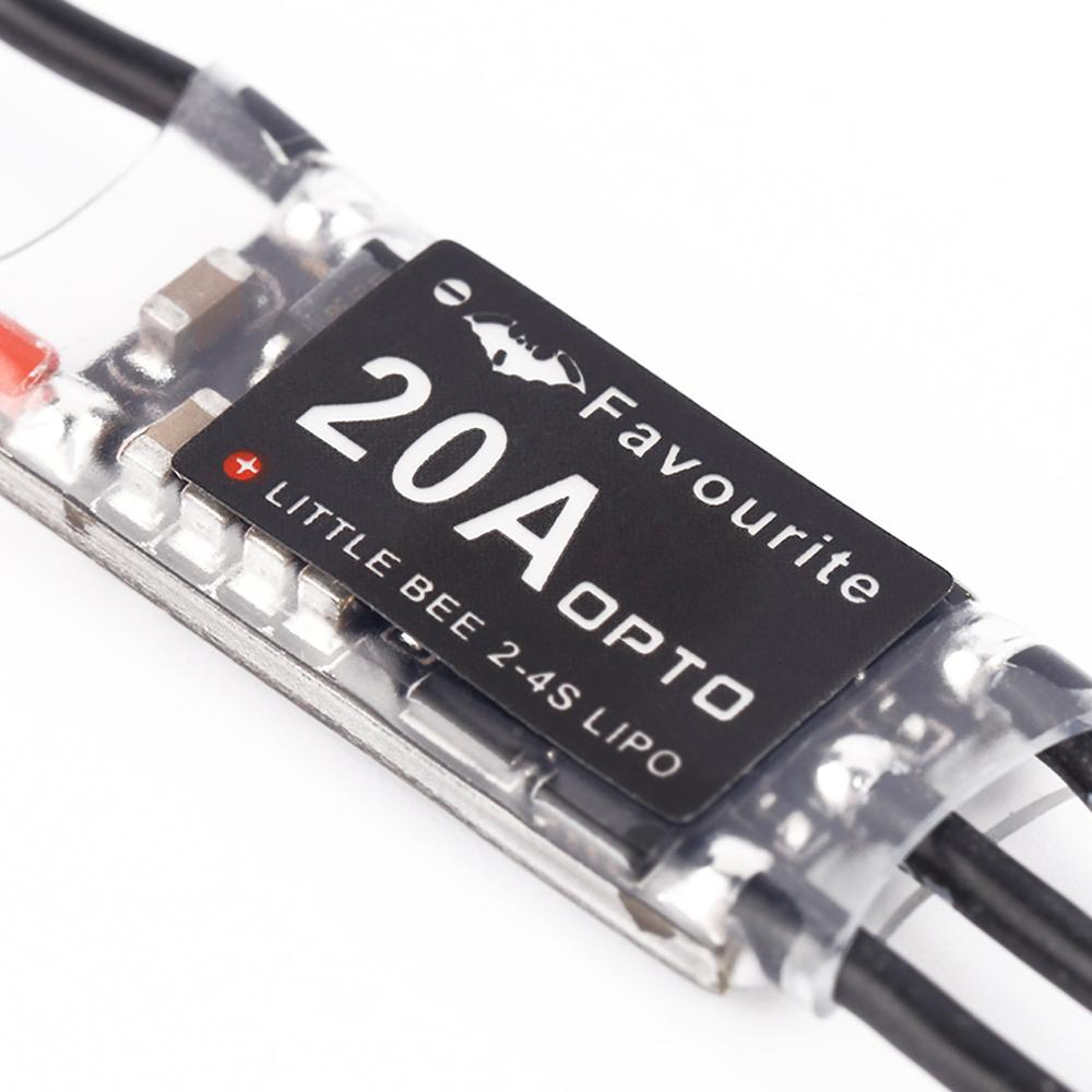 YKS Little Bee 20A Mini Brushless ESC 2 4S Speed Contorller for RC Quadcapter Accessories RC