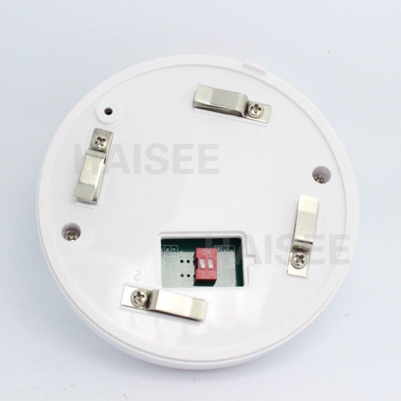 JERUAN 12 В DC Проводной детектор дыма optoelectirc датчик использовать для проверки огня или анти-то сжигание подключение к проводной зоны