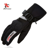 Gloves Men Full Finger Motorcycle Gloves Winter Luva Waterproof Motorbike Luvas Para Ciclismo Moto Guantes Black