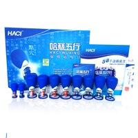 HACI wuxing zhen Magnetic Acupressure Hút Thử Nếm set Chăm Sóc Sức Khỏe 10 Cups massage trị liệu Từ châm cứu thương hiệu lớn