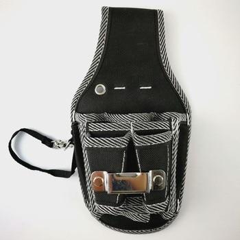 Durable Hardware Tool box Bag Nylon Pocket Electrician DIY Working Tool Pouch Bag Waist Belt Screwdriver Pliers Storage