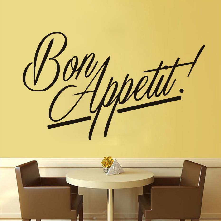 Nice Kitchen Vinyl Wall Art Image Collection - The Wall Art ...