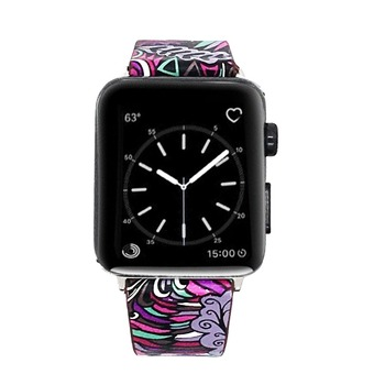 Floral Print Band for Apple Watch 1