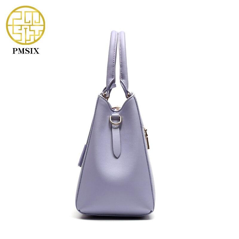 Pmsix Dames Vee Split Leathe Tas Nieuw Ontwerp Dames Messenger Bags - Handtassen - Foto 4