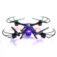 K60 2.4GHz 5CH Drone with Camera 6-Axis 3D Flip One Key Return LED Light for RC FPV Quadcopter