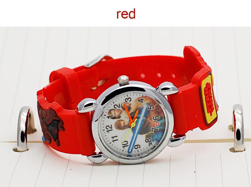 New Sports Chilren Cartoon Watch Girl Fashion Cool 3D Rubber Watches Boys Kid Analog Boy Quartz Wrist Watch Enfant Relogio Hot