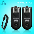 RF-603II C3 Wireless Remote Flash Trigger for canon 5D2 7D 5D3 5DS 1Ds 7D2 6D