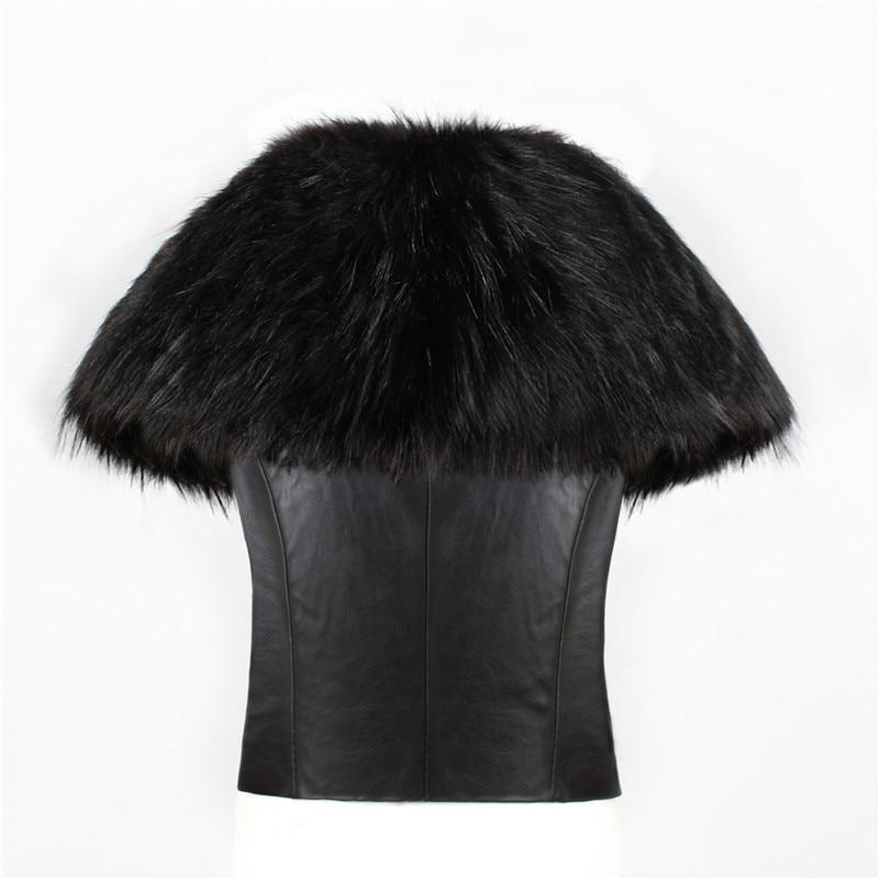 2018 spot fashion Europe and America party high-end fox fur faux fur vest elegant elegant fur (9)