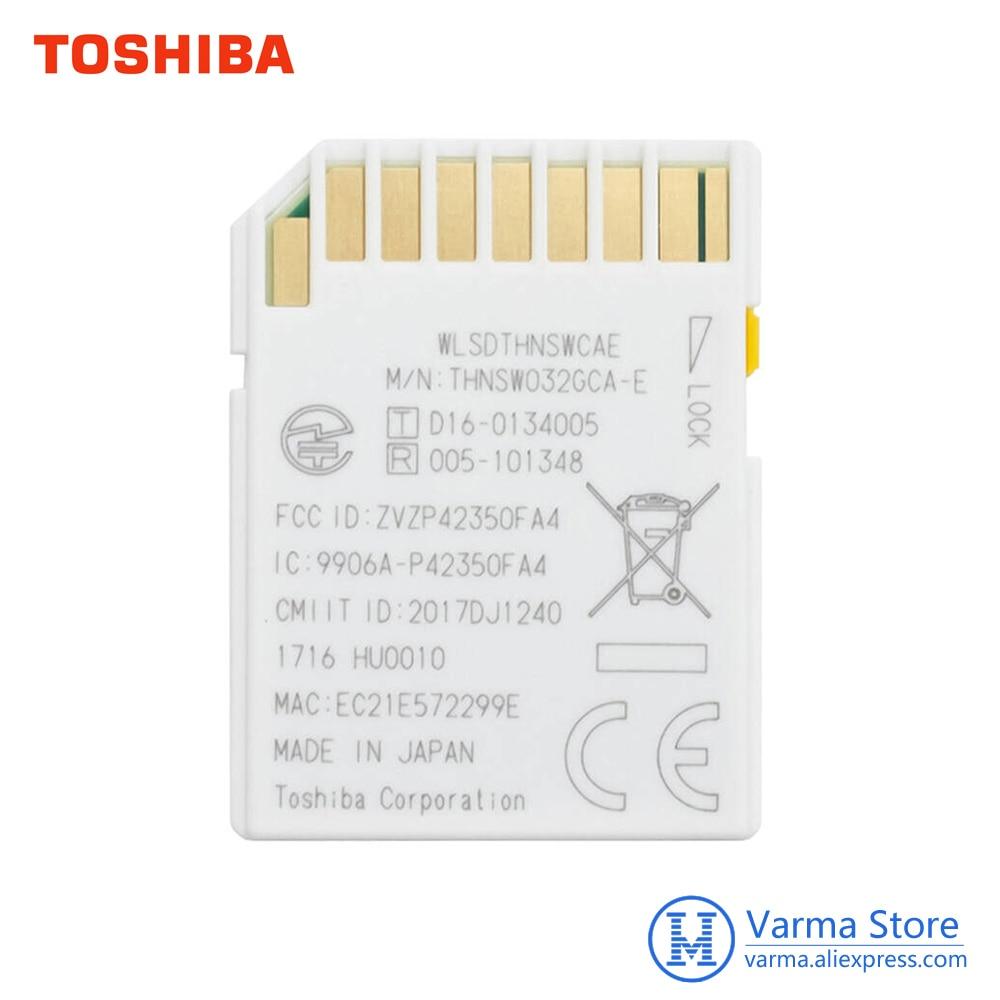 Image 5 - Toshiba Wifi karty SD, lustrzanka, aparat fotograficzny, pamięci karty szybkiego wsparcie 4 K bezprzewodowy karty SD 16 GB 32 GB 64GBWiFi SD karty pamięciKarty pamięci   -