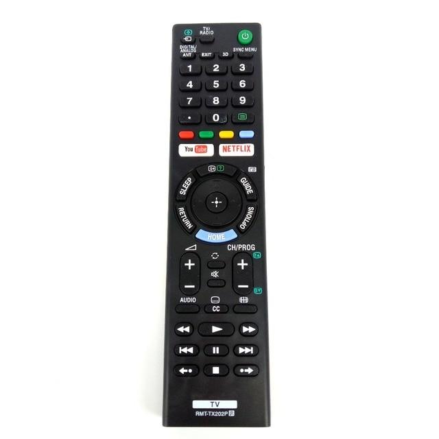 Nieuwe RMT TX202P Vervanging Voor Sony Bravia Led Tv Afstandsbediening Voor RMT TX300E RMT TX300U RMT TX300P Fernbedienung
