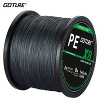 Goture Brand Braided Fishing Line 8 Strands 500m Super Strong PE Line Multifilament Linha De Pesca