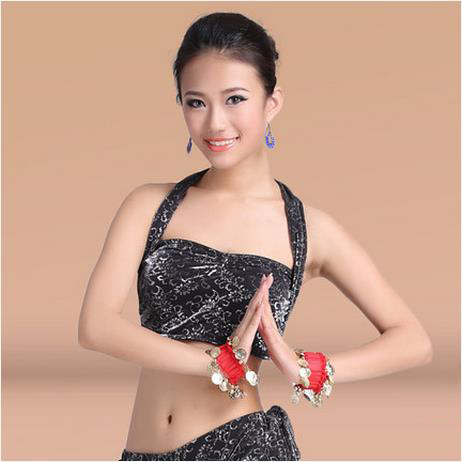 New Arrival Silver Cotton  Belly Dance Top Momen Sleeveless  Belly Dance Tops Sexy Top 11 Colors