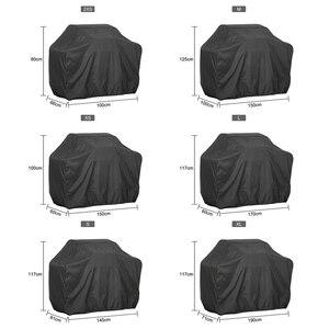 Image 1 - 黒防水バーベキューカバー、バーベキューグリルのアクセサリー抗ほこりや雨炭素ガスバーベキューグリル