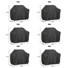 Black waterproof barbecue cover, barbecue grill accessories Anti Dust and rain the Carbon gas barbecue grill