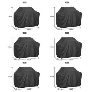 Barbecue-Cover Waterproof Carbon-Gas And Black Rain The Anti-Dust