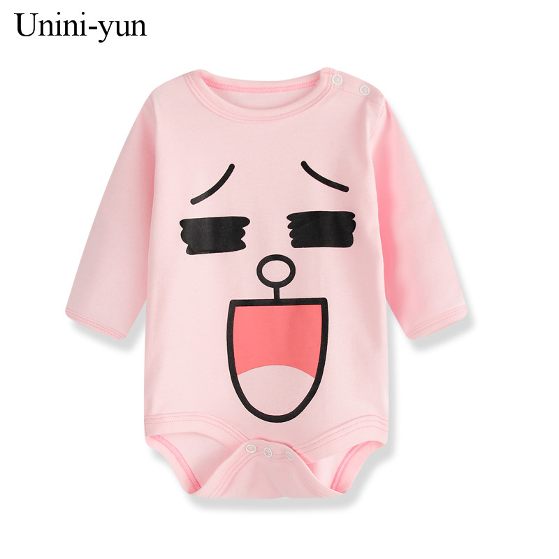 2017 Unisex Baby Rompers Spring Newborn Baby Clothes Long Sleeve Infant Baby Boy Jumpsuits Roupa Bebes Baby Girl Clothing Sets