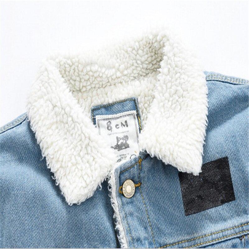 7dc33c7c5e972b 2017 inverno stile new fashion alphabet stampa agnello giacca di jeans uomo  slim cappotto di cachemire degli uomini dei jeans cappotto in 2017 inverno  stile ...