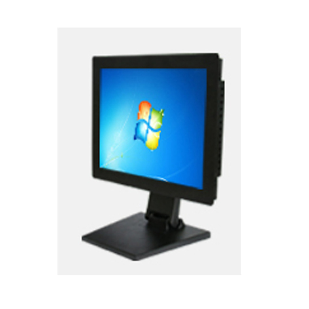 Newest Desktop 15.6 Inch LED Display Monitor With Energy Saving for Kitchen,Bedroom,Hotel Rooms Information Showing