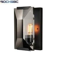 BOCHSBC Французский кристалл настенный светильник Ретро Стиль деревянные бусы Книги по искусству свет лампы применяются к Кухня Обеденная кро