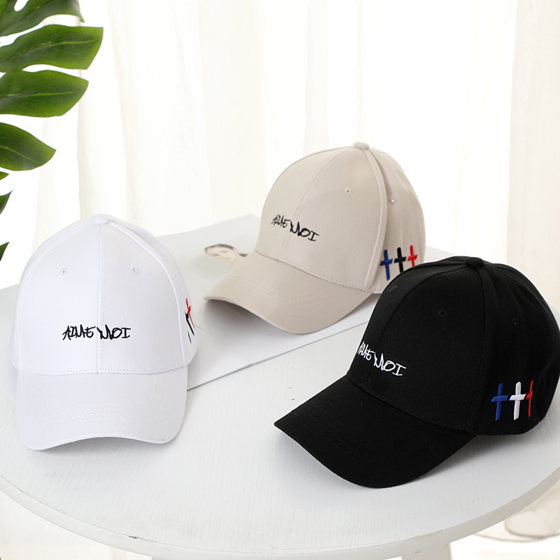 Fashionable Baseball Caps for Men Women Printing Embroidery Casual Hats Hip Hop Adjustable Cap Summer Cotton Baseball Cap Unisex in Men 39 s Baseball Caps from Apparel Accessories