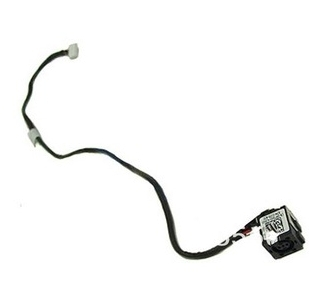 WZSM New Laptop DC Power Jack cable for Dell Latitude