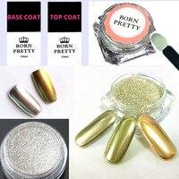 5pcs Set Shinning Mirror Nail Glitter Powder Red 10ml UV Gel Kit Nail Art Chrome Pigment