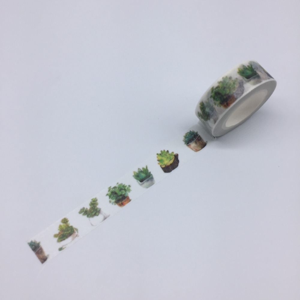 2017 New Printing Japanese Washi Tape Office Adhesive Scrapbooking Tools Kawaii Decorative Great Christmas Cute Craft Gift