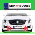 Russian European Car License Plate Frame with Rearview Camera and 2 Radar Sensors Car Parking System Kits