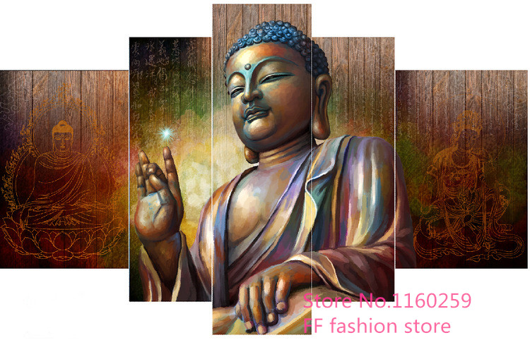 Craft sale 5D diy diamond painting resin mosaic 3d diamond painting drill diamond needlework embroidery religious Buddha Multi