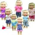 Arrvial 5 шт. / комплект одежда костюм и платье для mini келли симба на mini barbie кукла