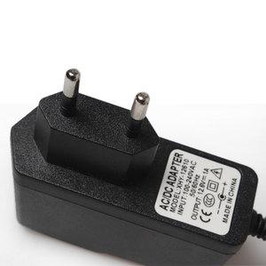 Image 5 - Зарядное устройство для литиевых аккумуляторов 12,6 в, 1 А, 18650/блок полимерных аккумуляторов 100 240 в, вилка для ЕС/США, зарядное устройство с проводным свинцовым разъемом постоянного тока, 5,5*2,1*10 мм