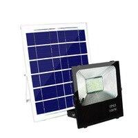 4 шт Светодиодный прожектор на солнечных батареях 100 W прожектор Солнечная Сенсор лампа Водонепроницаемый IP65 Открытый чрезвычайных безопас