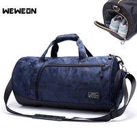 Professional Training Sports Bag Men Gym Bag With Shoes Compartment Sports Bag For Fitness Travel Handbag