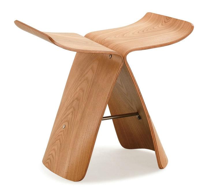 Silla de la mariposa sala modelo de madera taburete for Modelos de muebles de madera para zapatos