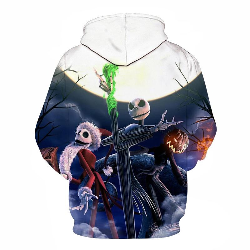 8b814282c93d Drop transport hoodie lovers shirt Jack 3D hooded sweatshirt men s hoodies  casual fashion hip hop pullover Halloween gift S-6XL