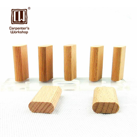 20*6*38mm/ 19*5*28mm , Beech Wood, Domino Tenon,