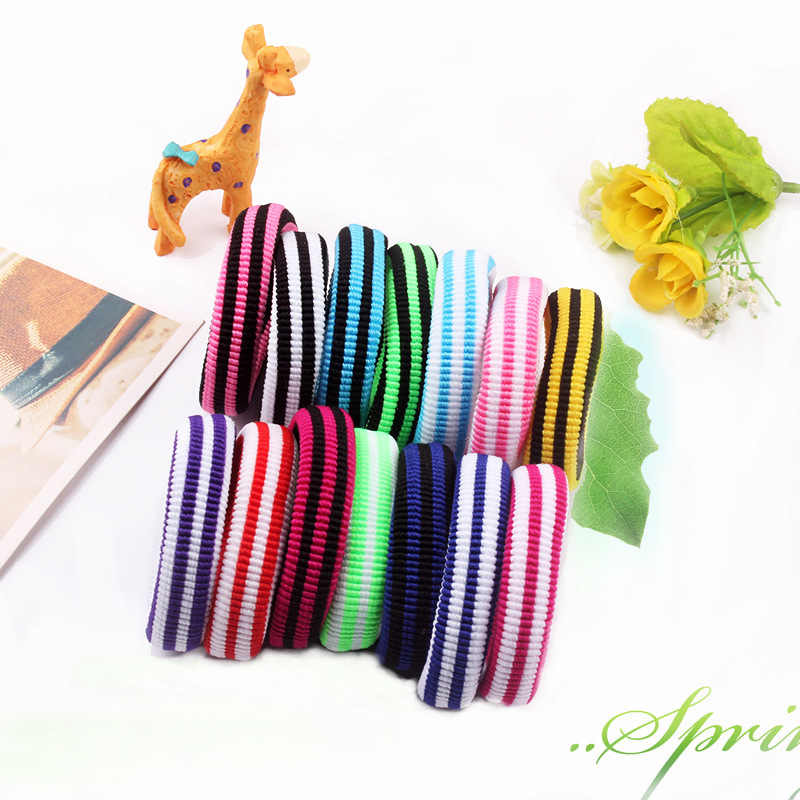 1PCS Multicolor Stripe Hair Accessories For Women Headband,Elastic Hair Bands For Hair Girls,High-quality Ornaments For Kids