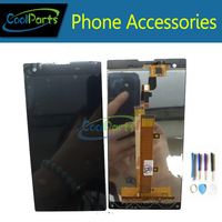 1PC Lot High Quality Black Color For Fly IQ4511 LCD Screen Display And Touch Screen Replacement