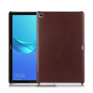 Image 5 - Case Cowhide For Huawei MediaPad M5 10.8 inch Protective Cover Shell Genuine Leather Mediapad m5 10 Pro 10.8 Tablet PC back case