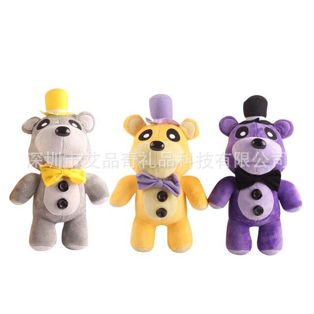 Stand plush toy Five Nights At Freddy's 4 FNAF Bonnie Foxy Freddy Fazbear Bear Plush Toys Doll 30cm stuffed animals Doll