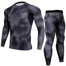 Men Plus Size Running T shirt Pants Sport Jersey Long Sleeves Sportwear Gym Fitness Cycling Sport